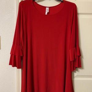 Tops - Beautiful Red Tunic
